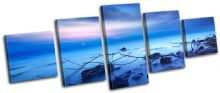 Beautiful Sunset Seascape - 13-1380(00B)-MP07-LO